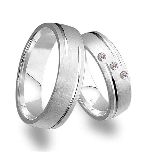 Eheringe Silber Mit Stein trauringe eheringe mit 3 steinen silber 925 j66 3 ebay