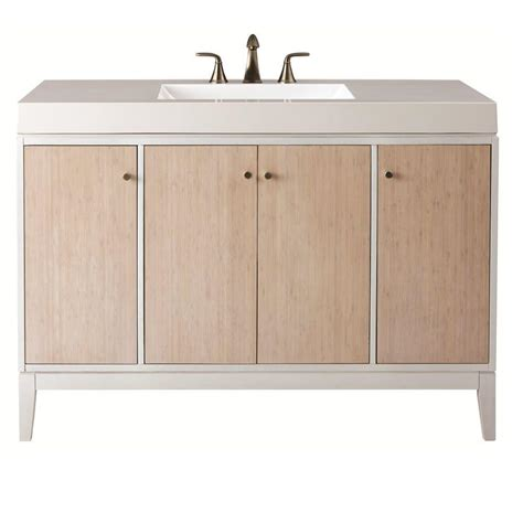 Home Decorators Bathroom Home Decorators Collection Melbourne 49 In W X 22 In D Bath Vanity In White With Marble Vanity