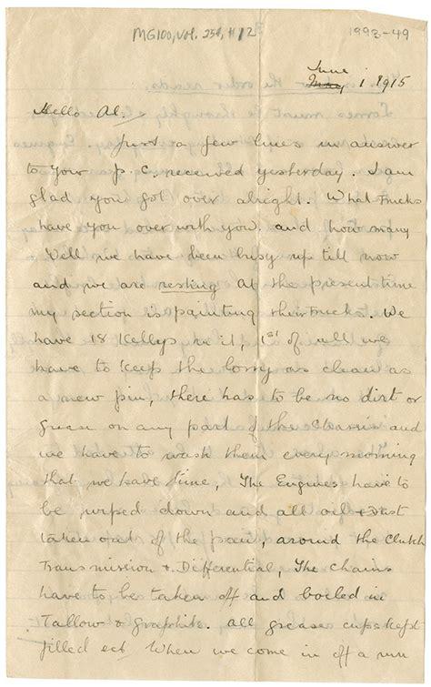 Visit Letter Asp scotia archives letters home