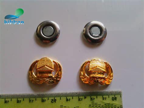 Pin Korpri Fiber Pin Peniti Korpri menerima pesanan nama dada grafir lencana korpri asn lapisan emas asli magnet kuat dan