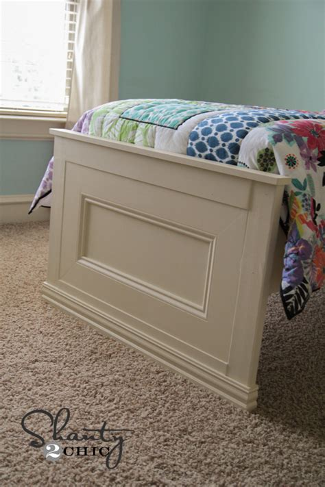 Diy Footboard by Amazing Diy Bed Shanty 2 Chic