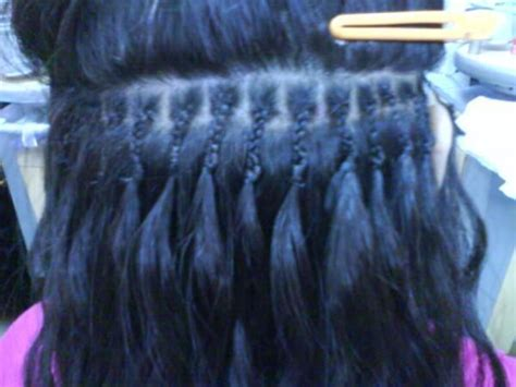 micro bead hair extensions   fortheloveofhappiness