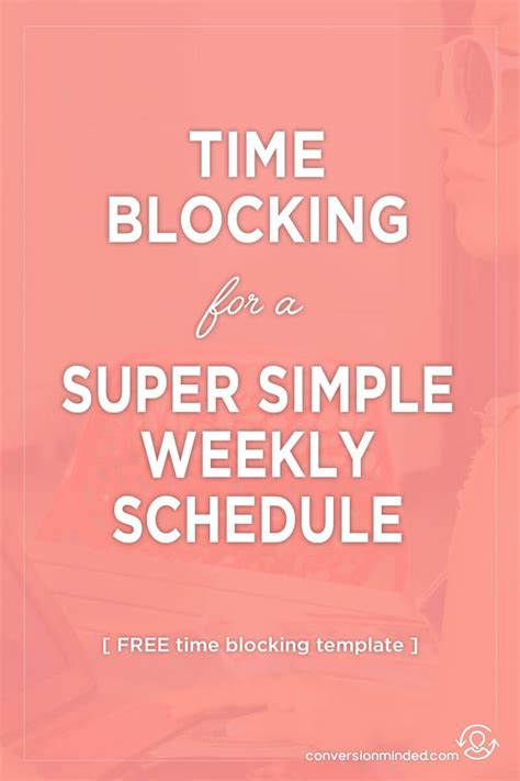 time blocking template 7312 best blogging for beginners images on