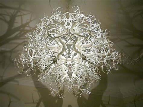 Forest Chandelier Sculptural Chandelier Creating A Mysterious Atmosphere By