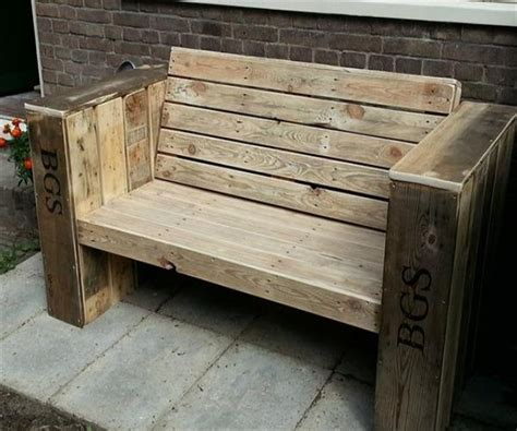 patio bench designs patio benches with wood pallets pallet ideas