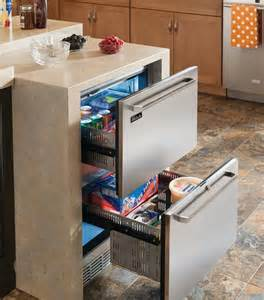 Kitchen Island With Refrigerator by Undercounter Refrigerators The New Must Have In Modern