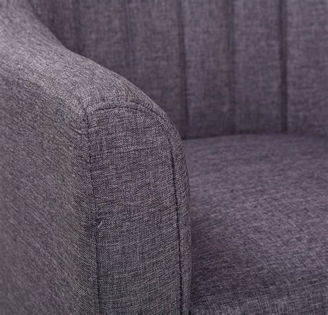 Grey Patterned Armchair Nora Patterned Back Armchair In Grey Fabric By Leader