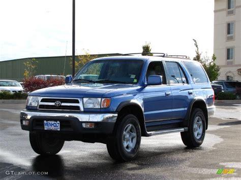 1999 toyota 4runner sr5 horizon blue metallic 1999 toyota 4runner sr5 4x4 exterior