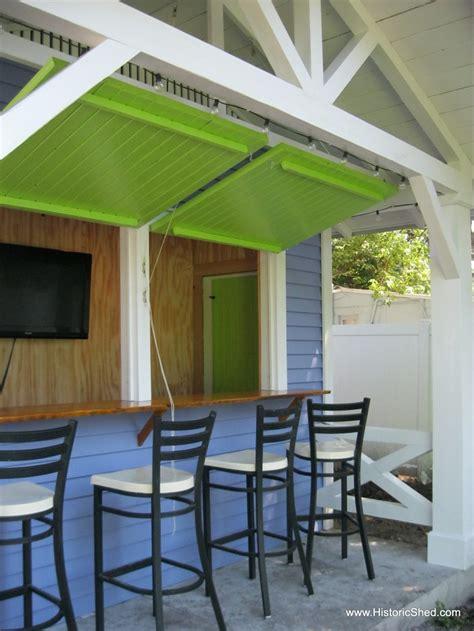 flip  windows tiki bar  dock  cottage home