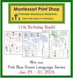 free printable montessori blue series 1000 images about montessori giveaways on pinterest