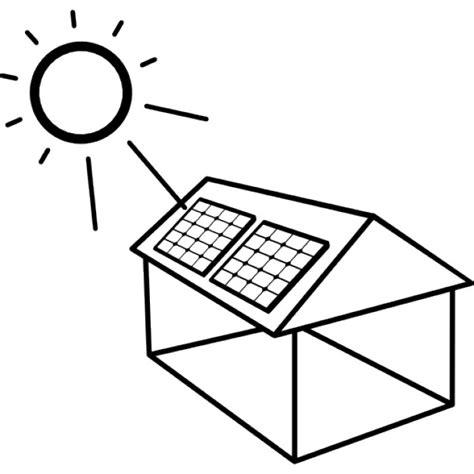 Installer Un Panneau Solaire by Maison Avec Panneau Solaire Install 233 T 233 L 233 Charger Icons
