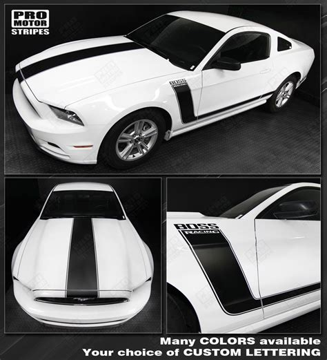 mustang stripes and decals ford mustang decals and stripes