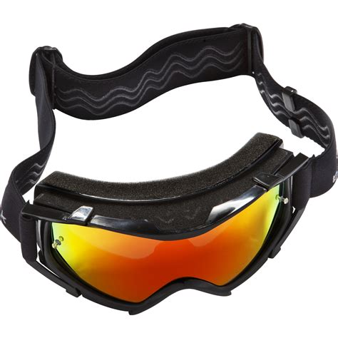 tinted motocross goggles black rock black motocross goggles gold tinted lens