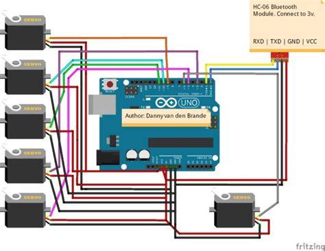 arduino code greenhouse arduino android bluetooth multi servo motor control