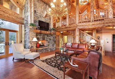Log Home Living Rooms by Living Room Log Cabin Home Is Where I M At With You