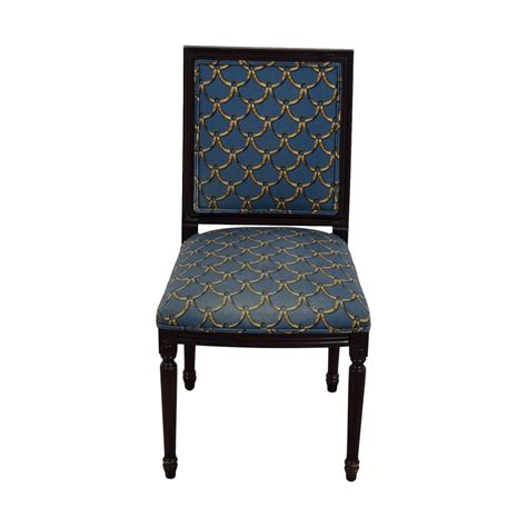 Upholstered Chairs Sale Design Ideas 57 Ballard Designs Ballard Designs Blue And Gold Upholstered Side Chair Chairs