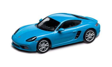Porsche De Shop by Porsche 718 Cayman S 982 Miamiblau 1 43 718