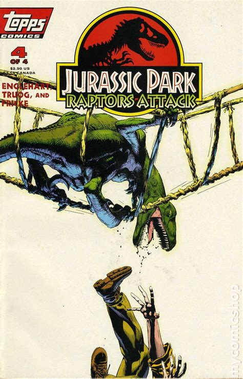 jurassic park golden book jurassic park books jurassic park raptors attack 1994 comic books