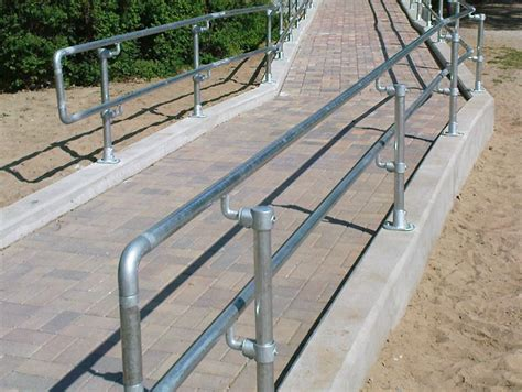 Ada R Handrail handicap handrail easy to install ada compliant railing
