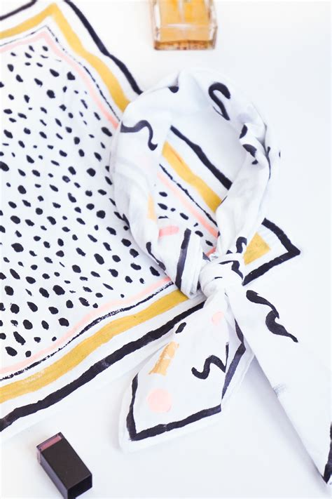 Patterned Neckerchief patterned diy no sew neckerchief sugar cloth