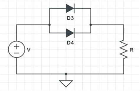transistors and diodes diodes in parallel