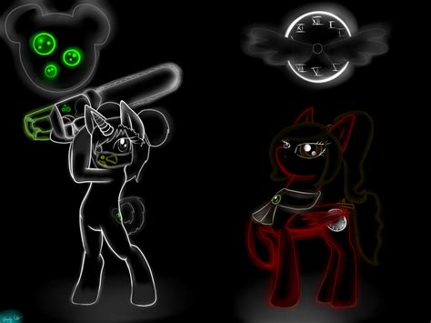 Lyra Ferby Neon 6 Pcs neon pony wallpaper lyra jung and coco by sofiacivita on deviantart