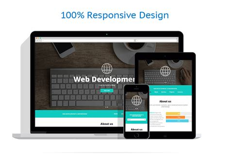responsive layout design software software website template 52537 templates com