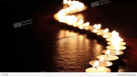 candele on line candles line hd stock footage 710399