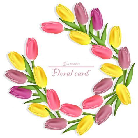 ghirlande di fiori di carta carta floreale ghirlanda di tulipani disegni di fiori