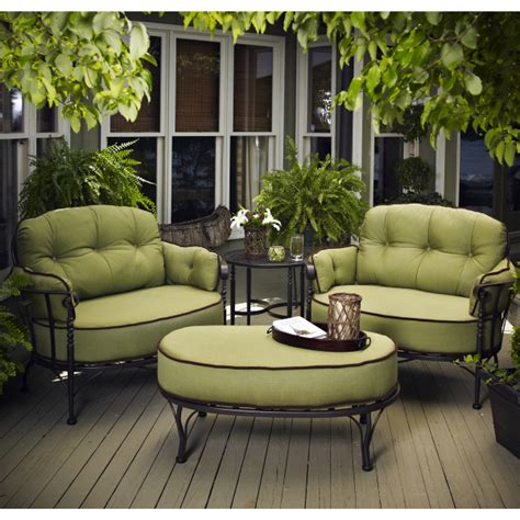backyard patio furniture athens deep seating by meadowcraft outdoor furniture