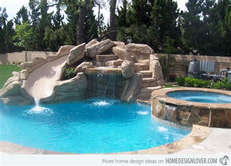 pool designs with slides 15 gorgeous swimming pool slides swimming pool slides