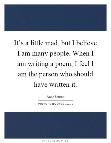 What Type Of Person Am I Essay by It S A Mad But I Believe I Am Many When I Am Picture Quotes