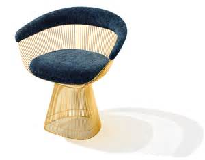 Platner Gold Plated Arm Chair Hivemodern Com