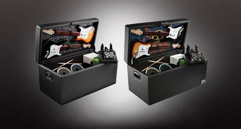 guitar storage ottoman levelup with rock band storage ottoman