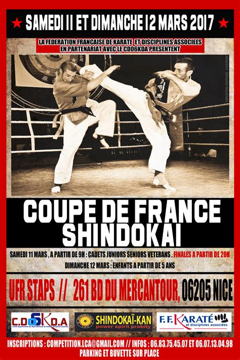 Calendrier 2018 Karate Coupe De Shindoka 239 2017 Cdk Alpes Maritimes