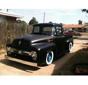 1956 Ford Pickup Truck F100 Kustom Sweet Driver Ready To Go Drive It