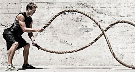 rope swing workout the beginners guide to battle rope training live limitless
