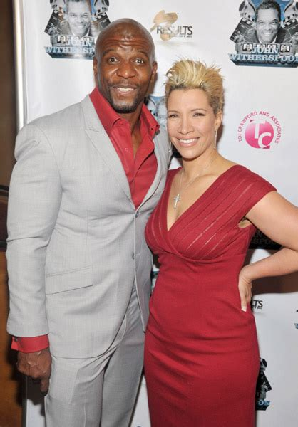 terry crews wife actor terry crews brings his 18 year old daughter onto the