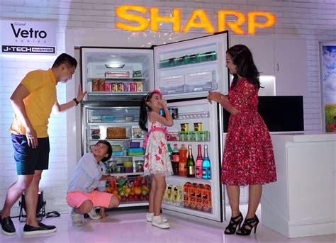 Kulkas Sharp Vetro usung berbagai keunggulan sharp perkenalkan kulkas grand vetro dengan teknologi j tech inverter