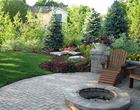landscape ideas for backyards with pictures backyard landscape design image detail for landscaping
