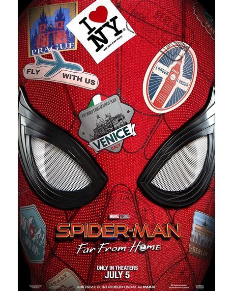 marvel releases poster teaser trailer  spider man