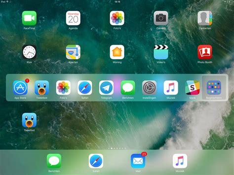 ios iphone ipad ios view ios 10 functies voor de ipad dit is er nieuw