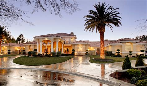 luxury mediterranean homes 7600 silver meadow court a mediterranean luxury estate in las vegas