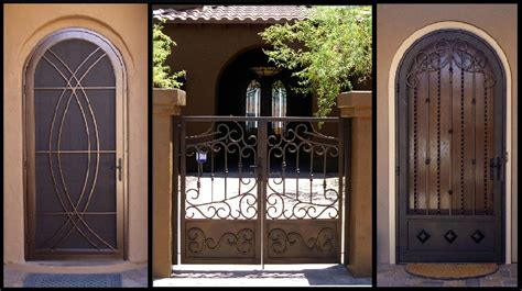 wrought iron security doors creative home decoration