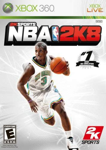 Kaset Xbox 360 2nd Nba 2k7 nba 2k8