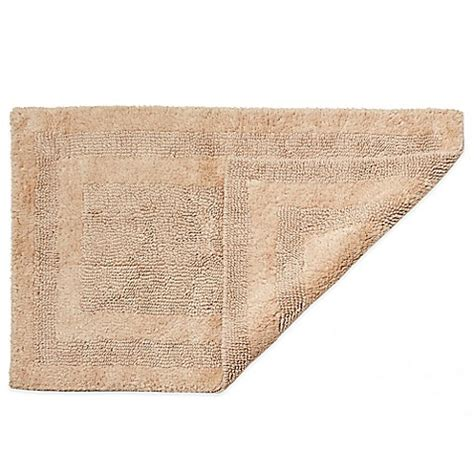 Bed Bath Bathroom Rugs Hygrosoft By Welspun Reversible Bath Rug Bed Bath Beyond