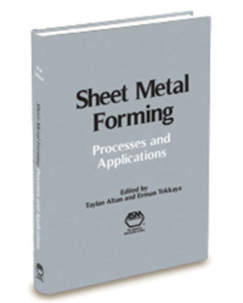 Handbook Of Die Design sheet metal forming processes and applications asm
