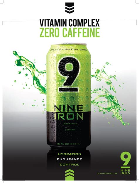 9 iron energy drink the science of nine iron sports hydration drink