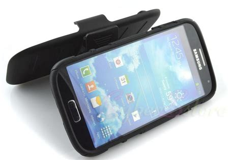 Samsung Galaxy S4 Hardcase Futur Armor With Stand Holster Original for samsung galaxy s4 future armor impact hybrid
