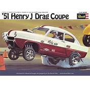 Revell 51 Henry J Drag Coupe